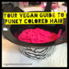 Your Vegan Guide to Punky Colored Hair