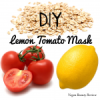 Garden Collage Startup Launch & DIY Lemon Tomato Mask