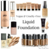 List of Vegan & Cruelty-Free Liquid Foundation