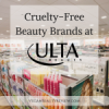 Cruelty-Free Beauty Brands at Ulta