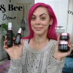 Green Beauty Spotlight: Fleur & Bee Review & Demo [VIDEO]
