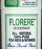 The world of vegan deodorant continues to grow with Florere