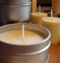 Soy candles are the eco way to go
