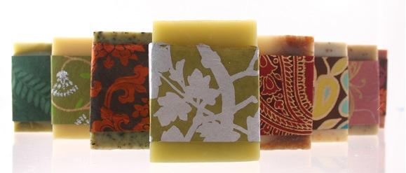 Handmade organic soaps $6.50 each