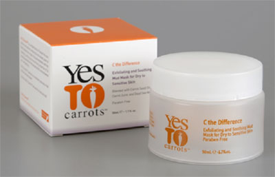 Yes to Carrots Exfoliating and Soothing Mud Mask,