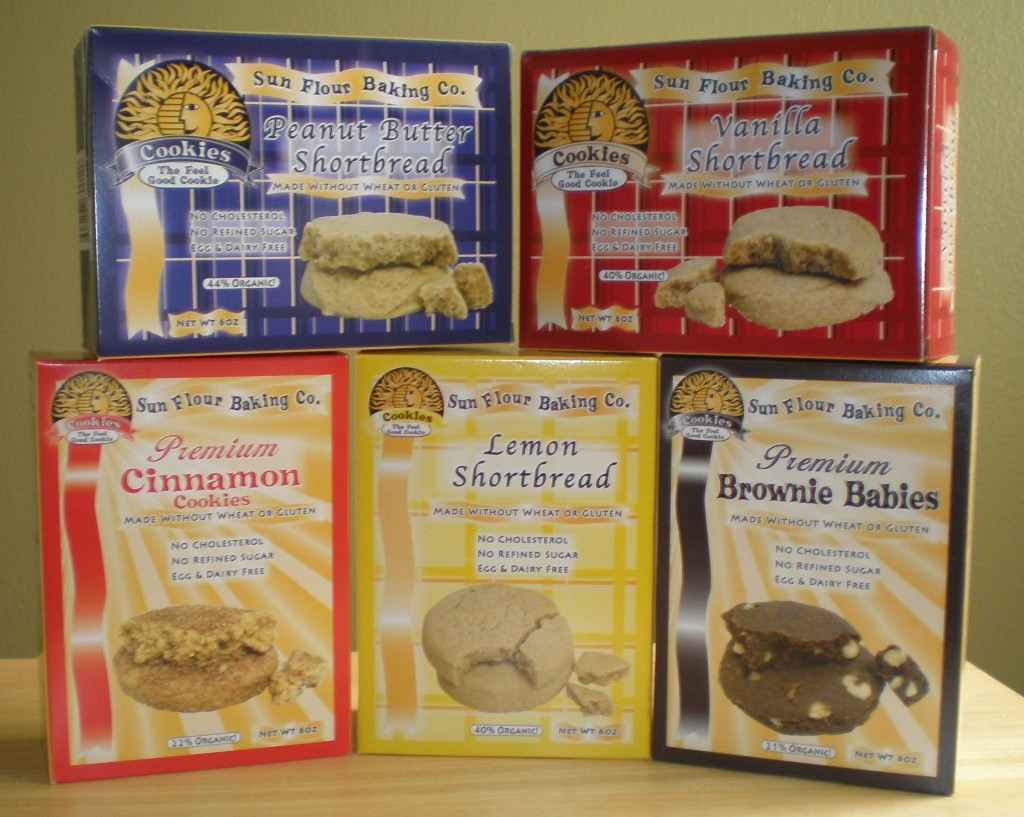 Sun Flour Baking Company cookies