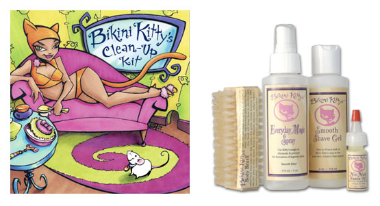 bikini kitty  vegan shave kit