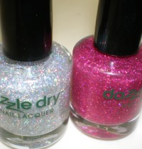 Dazzle Dry Jewel Effects make me glitter happy!