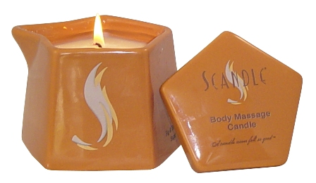scandle soy massage candle
