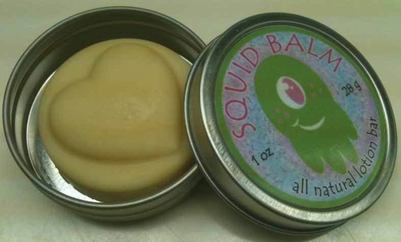 Squid Balm vegan lotion bars