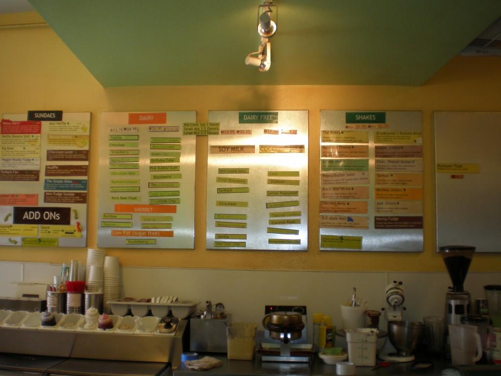 Maggie Mudd menu