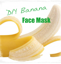 DIY Cruelty-Free Banana Face Mask