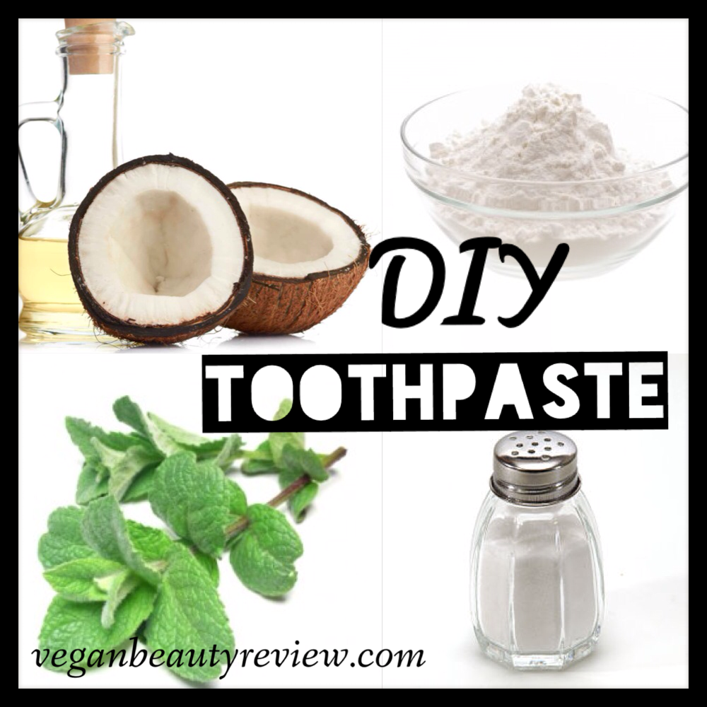 diy toothpaste