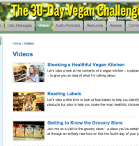 Take The 30-Day Vegan Challenge!