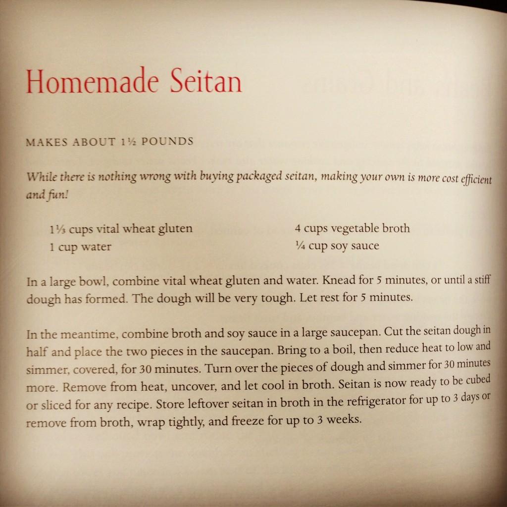 seitan recipe