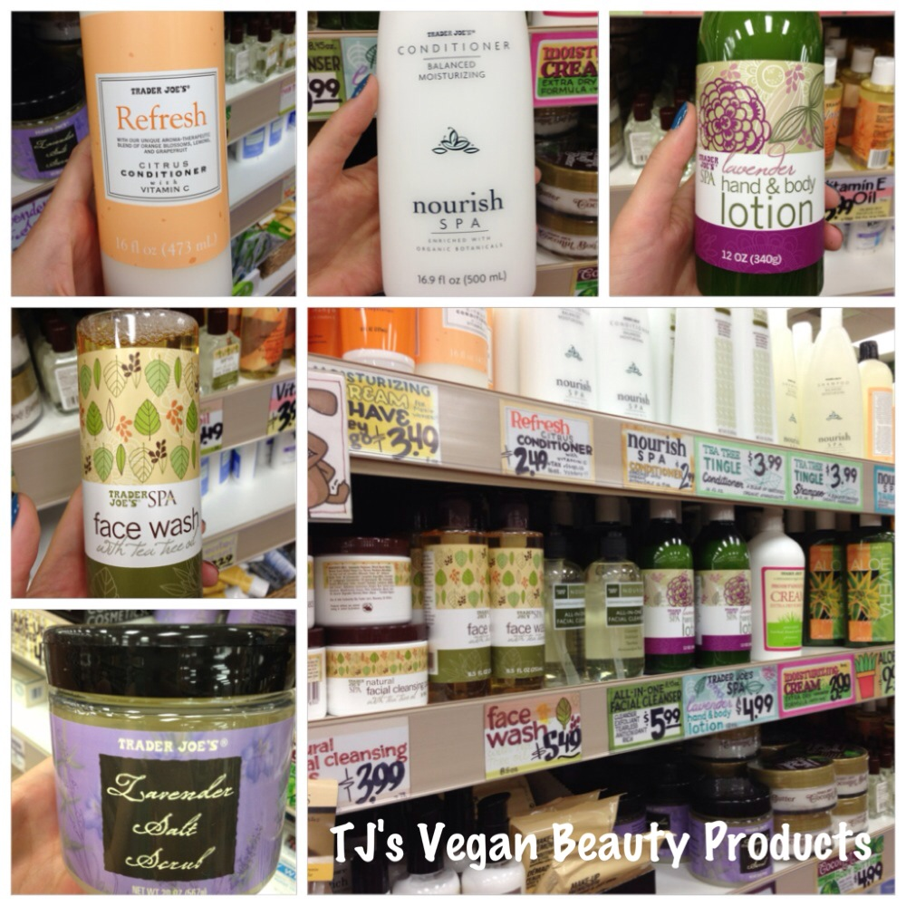 TJs vegan beauty products