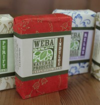 Match Your Mood with WEBA Vegan Soaps