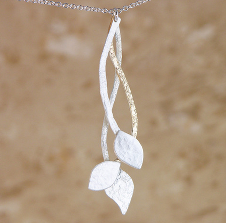 Garden of Silver necklace