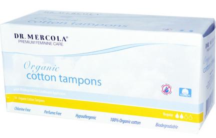 Dr. Mercola tampons