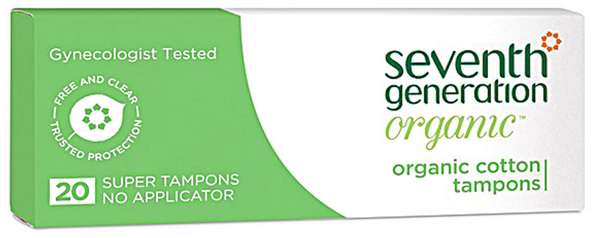 Seventh Generation tampons