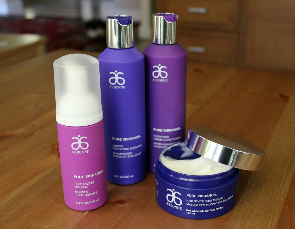 arbonne hair care