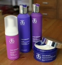 Arbonne's Pure Vibrance Vegan Hair Care Line