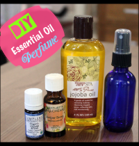 Simple DIY Essential Oil Perfume