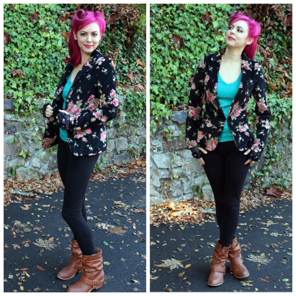 Lulus Floral Blazer