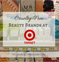 Cruelty-Free Beauty Brands at Target!