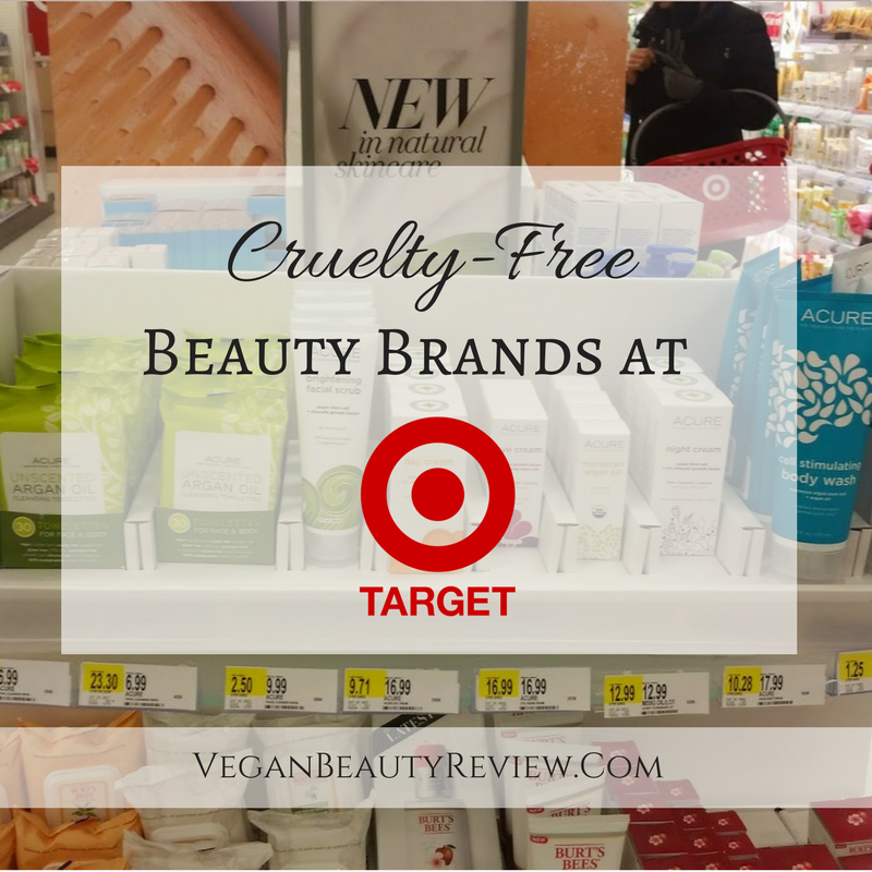 Cruelty-Free Beauty Brands at Target! - Vegan Beauty Review