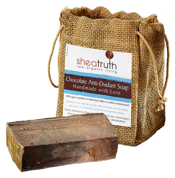 SheaTruth chocolate soap