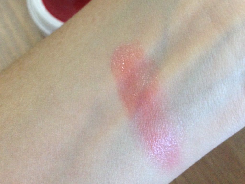 pacifica lip tint swatch
