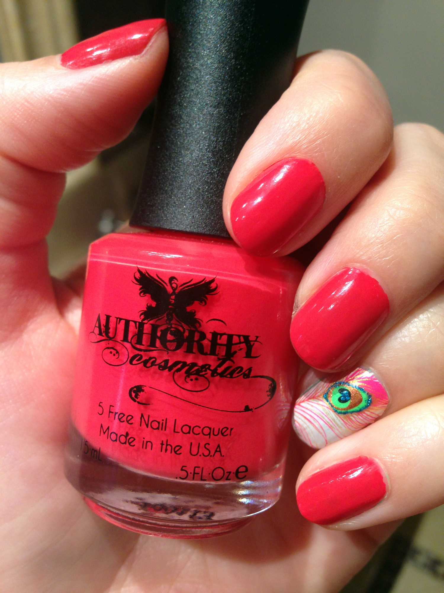 authority cosmetics nail polish