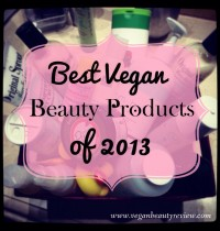 Best Vegan Beauty Products of 2013