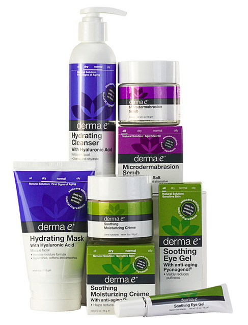 derma e holiday prep set