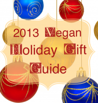 2013 Vegan Holiday Gift Guide