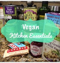Vegan Kitchen Staples