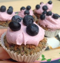 Healthy Vegan Raspberry Mini Muffins