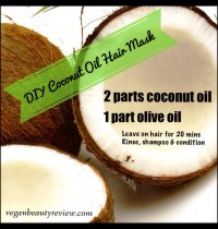 DIY Coconut Oil Hair Mask for Dry & Damaged Hair