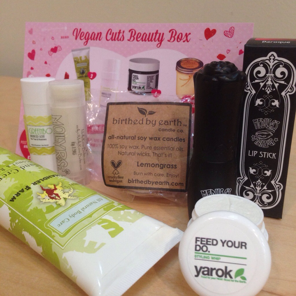 vegan cuts february beauty box