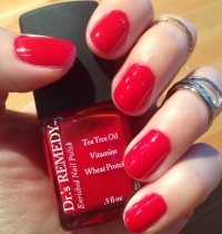 Manicure Monday: Dr.'s Remedy Rescue Red