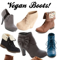 Cruelty-Free Fashion Friday: Boots!