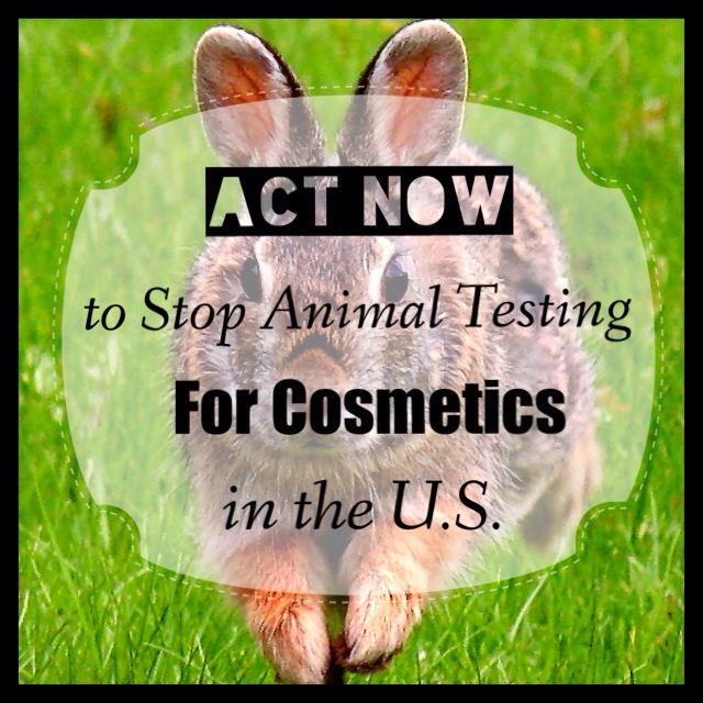 stop cosmetics animal testing in US