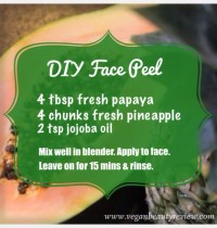 The Most Awesome DIY Face Peel Ever