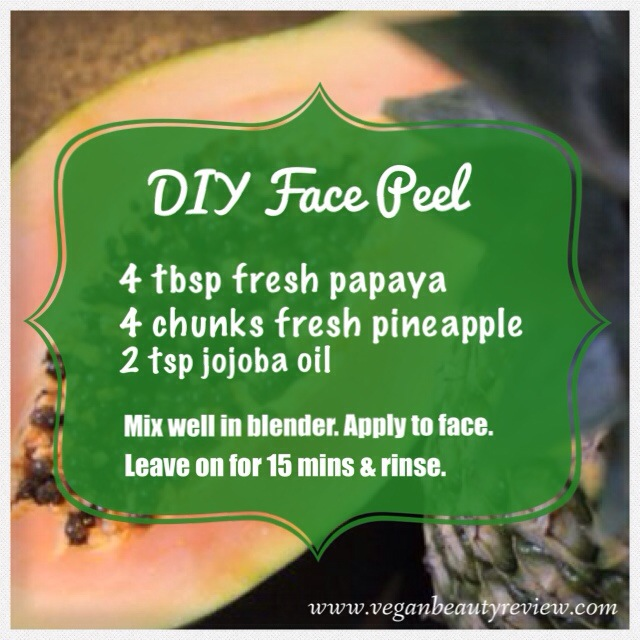 DIY Face Peel