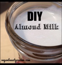 Easy Recipe for Homemade Almond Milk