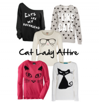 Cruelty-Free Fashion Friday: Cat Lady Attire