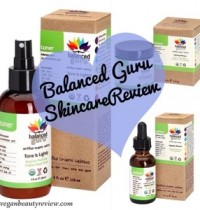 Balance Guru Vegan Skincare Review