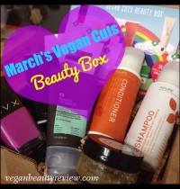 March's Vegan Cuts Beauty Box Review
