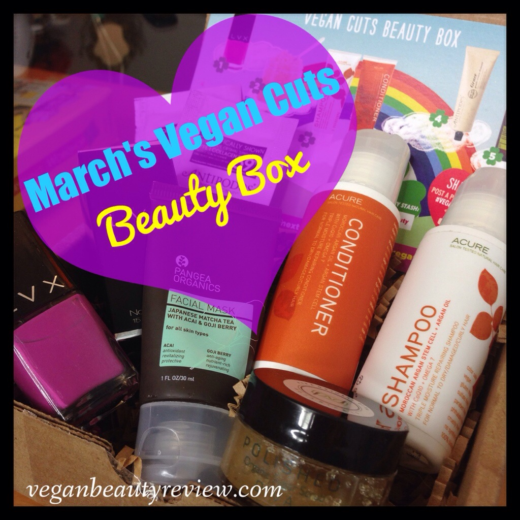 Marche Vegan Cuts Beauty Box